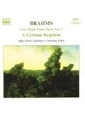 Brahms: Ein Deutsches Requiem (arr pf 4 hands)