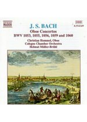 Hommel/Cologne CO/Bruhl - J.S.Bach/Oboe Concertos (Music CD)