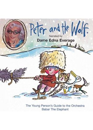 Sergey Prokofiev - Peter & The Wolf (Dame Edna, Mel So, Lanchbery) (Music CD)