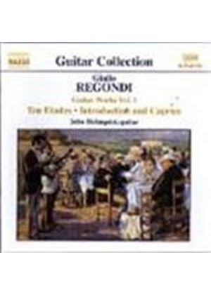 Regondi: Guitar Music, Volume 1