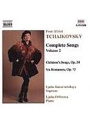 Tchaikovsky: Complete Songs, Volume 2