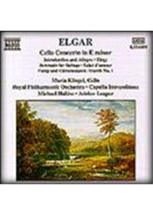 Elgar: Cello Concerto; Orchestral Works
