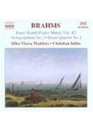 Brahms: Piano Works Four Hands