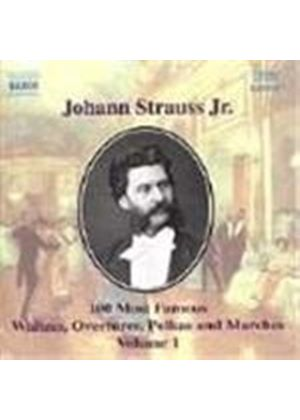 Strauss II: 100 Most Famous Works, Volume 1