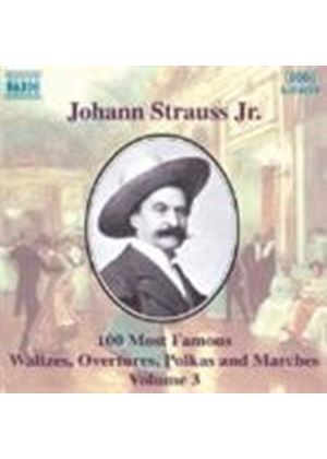 Strauss II: 100 Most Famous Works, Volume 3