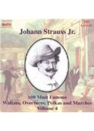 Strauss II: 100 Most Famous Works, Volume 4