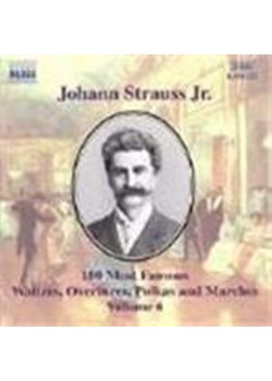 Strauss II: 100 Most Famous Works, Volume 6