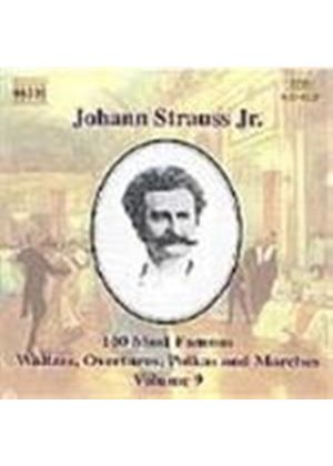 Strauss: 100 Most Famous Works, Volume 9