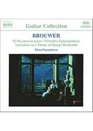 Leo Brouwer - Guitar Music Vol. 2 (Papandreou) (Music CD)