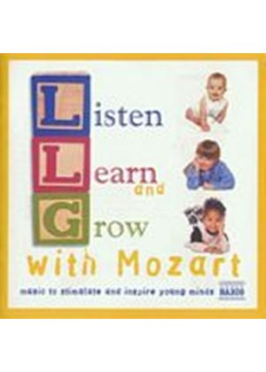 Wolfgang Amadeus Mozart - Listen, Learn & Grow With Mozart/Various Artists (Music CD)