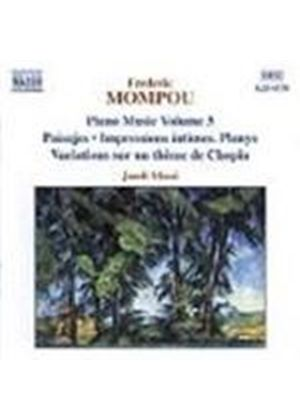 Mompou: Piano Works, Volume 3
