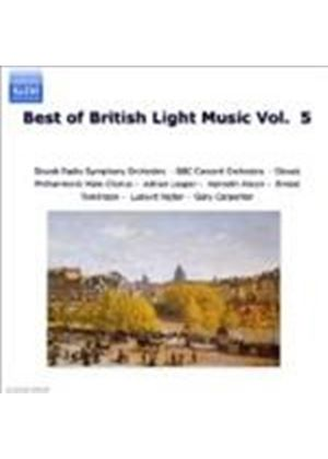 Various Composers - The Best Of British Light Music Vol. 5 (Music CD)