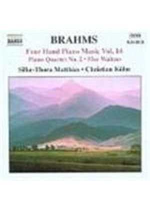 Brahms: Four Hand Piano Music, Vol 14