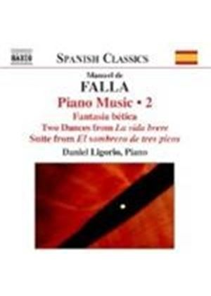 Manuel De Falla - Piano Music Vol. 2 (Ligorio) (Music CD)