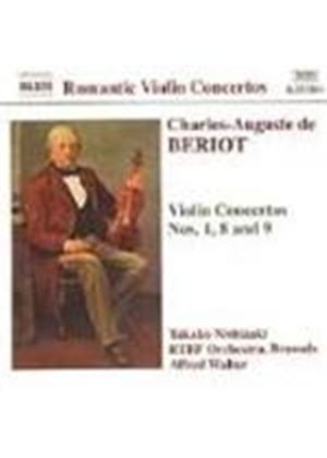 De Beriot: Violin concertos Nos 1, 8 and 9