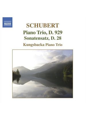Franz Schubert - Piano Trio D.929, Sonatensatz D.28 (Kungsbacka Piano Trio) (Music CD)