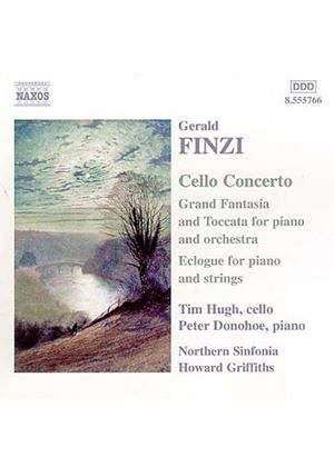 Gerald Finzi - Cello Concerto, Ecologue (Northern Sinfonia, Griffiths) (Music CD)
