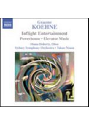 Graham Koehne - Inflight Entertainment, Powerhouse, Elevator Music (Yuasa) (Music CD)
