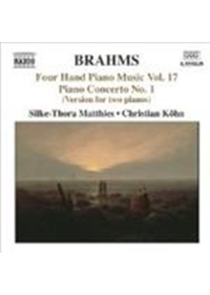 Brahms: Four-Hand Piano Works, Vol 17