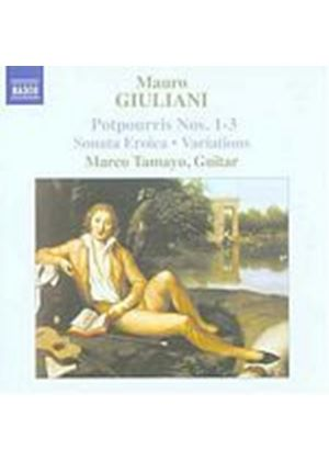 Mauro Giuliani - Guitar Music Vol. 2: Potpourris Nos. 1 - 3 (Tamayo) (Music CD)