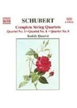 Schubert: Complete String Quartets, Vol 4
