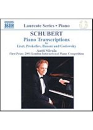 Franz Schubert - Piano Transcriptions (Siirala) (Music CD)
