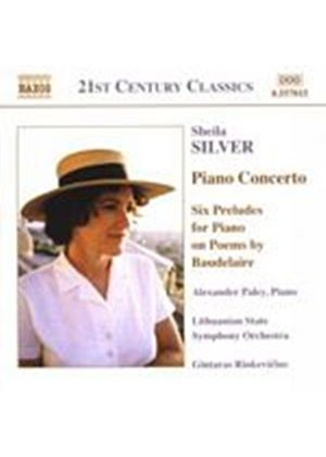 Sheila Silver - Piano Concerto (Rinkevicius, Lithuanian State SO, Paley) (Music CD)