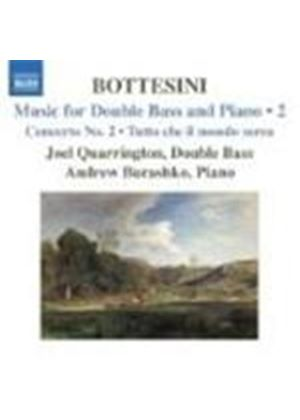 Giovanni Bottesini - Music For Double Bass And Piano Vol. 2 (Quarrington) (Music CD)
