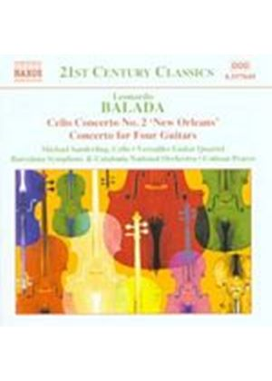 Leonardo Balada - Cello Concerto No. 2 (Pearce, Barcelona SO, Catalonia NO) (Music CD)