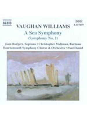 Ralph Vaughan Williams - A Sea Symphony (Daniel, Bournemouth SO & Chorus) (Music CD)
