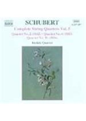 Schubert: String Quartets Vol 5