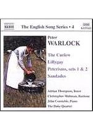 English Song Series, Vol. 4 - Warlock