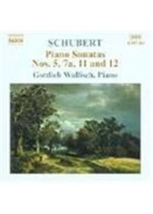 Schubert: Piano Sonatas Nos 5, 7a, 11 and 12