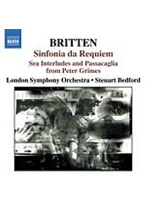 Benjamin Britten - Sinfonia Da Requiem, Gloriana, Four Sea Int. (Bedford, LSO) (Music CD)