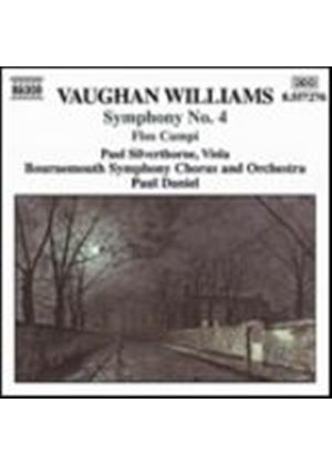 Ralph Vaughan Williams - Symphony No. 4 (Daniel, Silverthorne, Bournemouth SC&O) (Music CD)