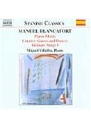 Blancafort: Piano Music