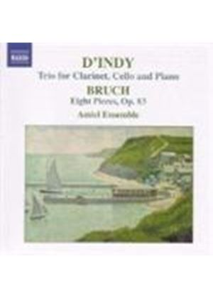D'Indy/Bruch - Trio For Clarinet, Cello And Piano/Eight Pieces (Amici Ens.)