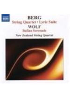 Berg: Lyric Suite; Wolff: String Quartet
