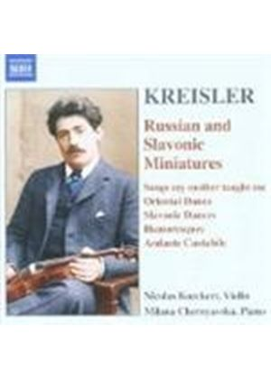 Russian and Slavonic Miniatures (Kreisler Arrangments)