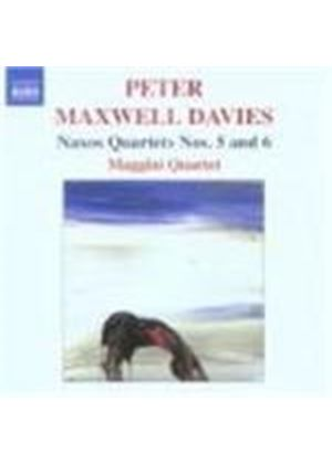Maxwell Davies: Naxos Quartets Nos 5 and 6