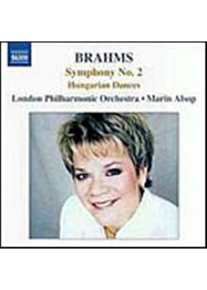 Johannes Brahms - Symphony No. 2 In D Major, Hungarian Dances (Alsop, LPO) (Music CD)