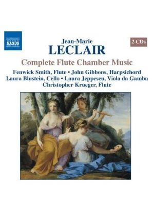 Jean-Marie Leclair - COMPLETE FLUTE CHAMBER MUSIC 2CD