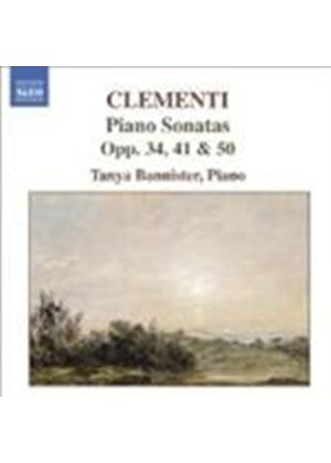 Clementi: Piano Sonatas, Opp 34/2, 50/1 and 40