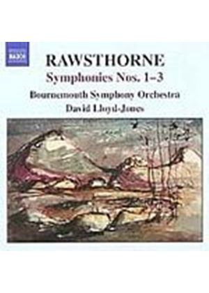 Alan Rawsthorne - Symphonies Nos. 1 - 3 (Lloyd-Jones, Bournemouth SO) (Music CD)