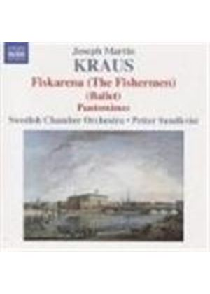 Joseph Martin Kraus - Ballet Music: Fiskarena, Pantomimes (Sundkvist, Swedish CO) (Music CD)