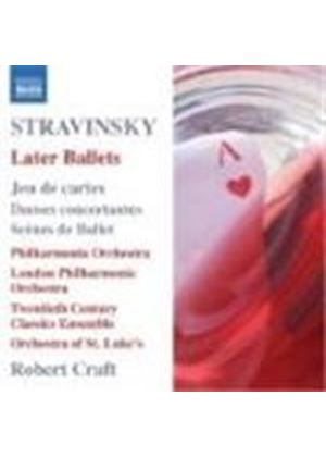 Igor Stravinsky - Later Ballets (Craft, LPO, PO) (Music CD)