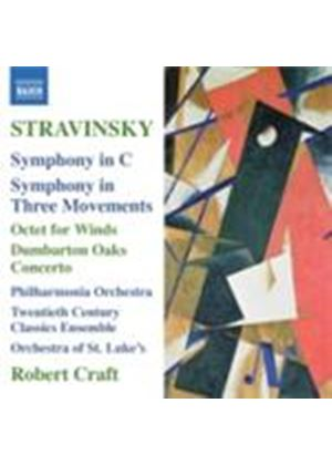 Stravinsky: Symphony in C (Music CD)