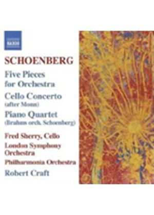 Arnold Schoenberg - Five Pieces For Orchestra (Craft, PO, LSO) (Music CD)