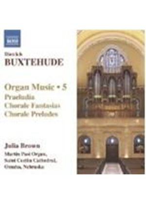 Buxtehude: Organ Music, Vol 5