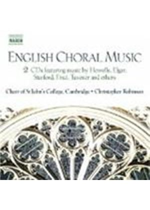 VARIOUS COMPOSERS - English Choral Music (Robinson, Choir Of St. John's College)